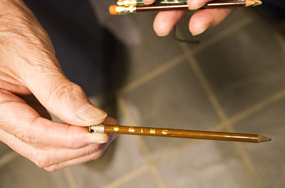第一銀行の鉛筆