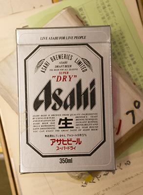 アサヒビールのトランプ