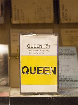 QUEEN カセットテープ