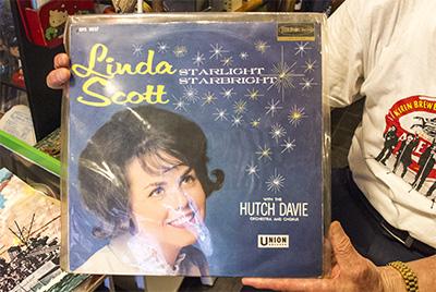 LPレコード リンダ・スコット