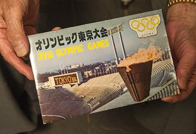 東京オリンピック 記念絵はがき