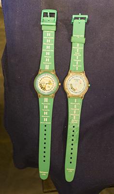 世田谷線の腕時計