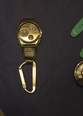 ジッポーの腕時計