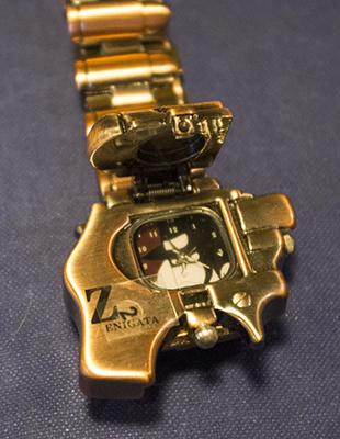 盤面に銭形警部の腕時計