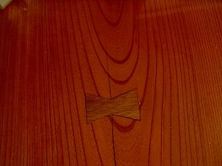 欅の木目 臼も欅
