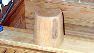 欅の風呂用椅子