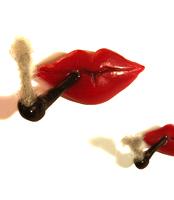 Smorking Lip! (A Plastic Jewelry & Arty.)