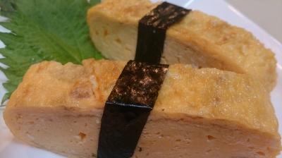 玉(たまご)の握り寿司