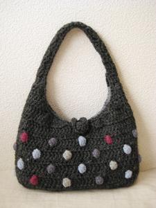編み編みバッグ!