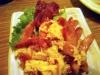 卵とチョリソーの炒め物