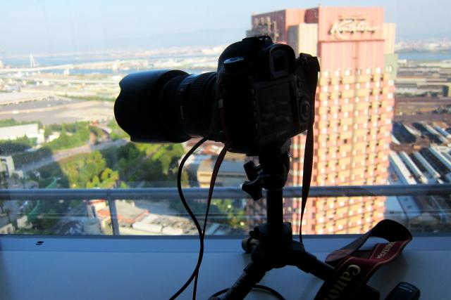 ホテル京阪 ユニバーサル・シティの窓からEOS 5D Mark III
