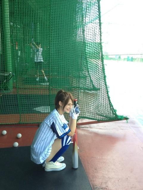 ダレノガレ明美 野球選手