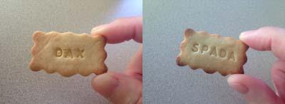 字クッキー