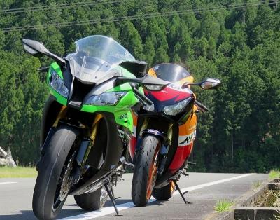 6月のバイク