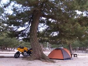 吹上浜キャンプ場1