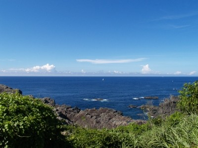 和歌山県潮岬よりの展望