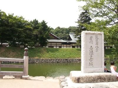 滋賀県彦根・彦根城内の碑