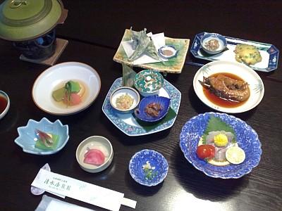 清水屋旅館・夕食