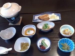 清水屋旅館・朝食