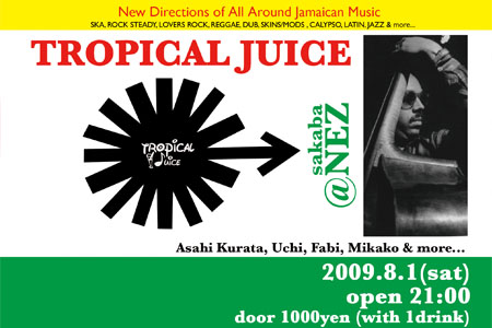 Tropical 2009.8.1