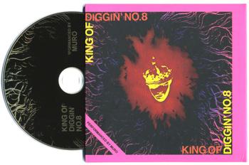 king of diggin' no.8 Mix CD