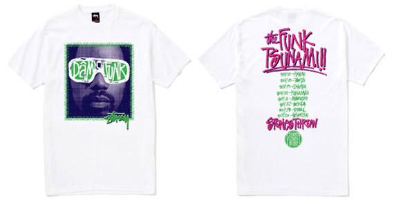 Dam-Funk Japan Tour t-shirts