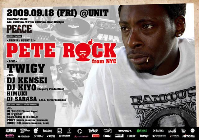 Pete Rock @Unit