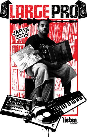 Large Professor Japan Tour