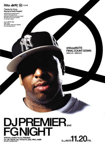 DJ Premier FG Night