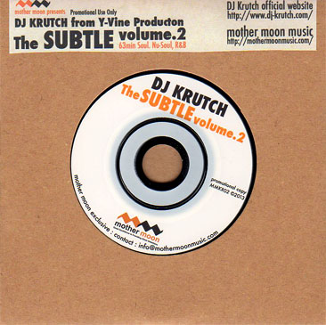DJ KRUTCH / The Subtle vol.2 a