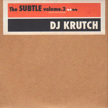 DJ KRUTCH / The Subtle vol.2 b