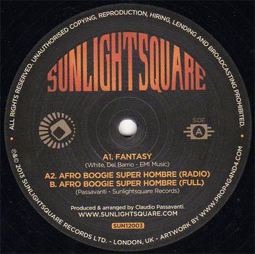 Sunlightsquare / Fantasy - Afro Boogie Super Hombre