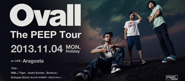 Ovall -The PEEP Tour-