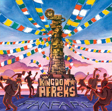 KINGDOM★AFROCKS / Fanfare (2LP)