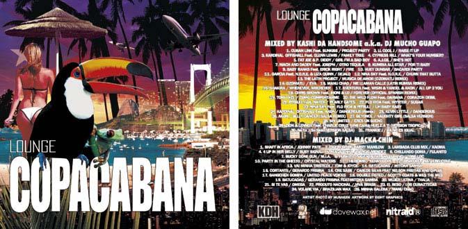 Kashi Da Handsome × Macka-Chin / Lounge Copacabana