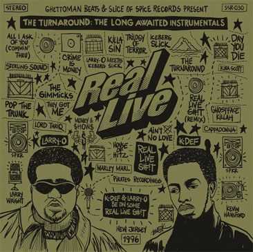 Real Live / Turnaround: The Long Awaited Instrumental - Limited Ver (2LP/Color Vinyl)
