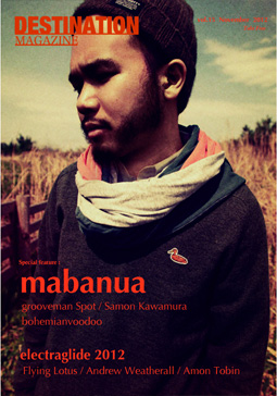 DESTINATION MAGAZINE vol.15 mabanua