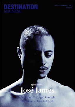 DESTINATION MAGAZINE vol.16 jose james