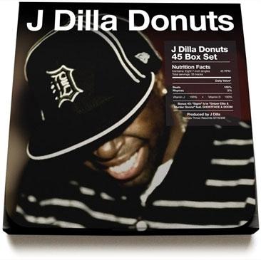 J Dilla / Donuts 45 Box Set (7
