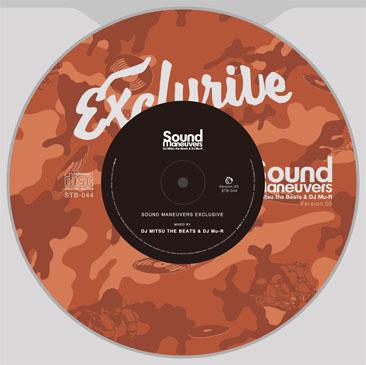 DJ Mitsu The Beats & DJ Mu-R / SOUND MANEUVERS / EXCLUSIVE ver.5