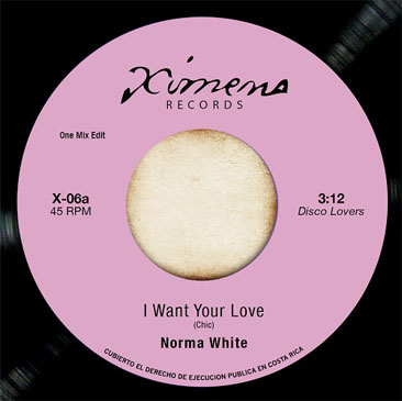 Norma White - Skatalites / I Want Your Love - Ceiling Bud (7)