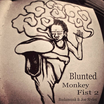 BudaMunk & Joe Styles / Blunted Monkey Fist 2 (CDR)