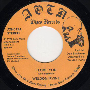 Weldon Irvine / I Love You - Whats Going On? 7 A