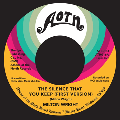 Milton Wright / Silence That You Keep - First Version (7)