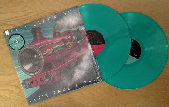 Tall Black Guy / Lets Take A Trip (2LP/color vinyl)