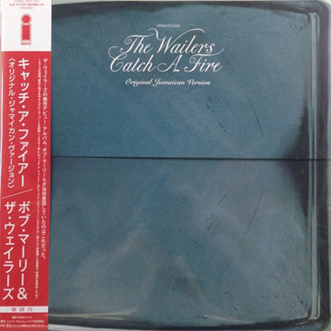 Wailers / Catch A Fire - Original Jamaican Version (LP/特殊ジャケット仕様/with Obi)