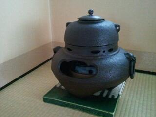 茶釜の手入れ   kisetsu-o-meder...