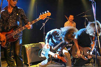 9月11日、ステージの一幕。