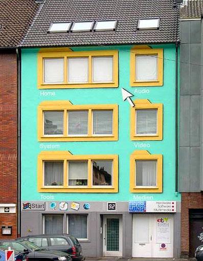 Windowsな家・・・。