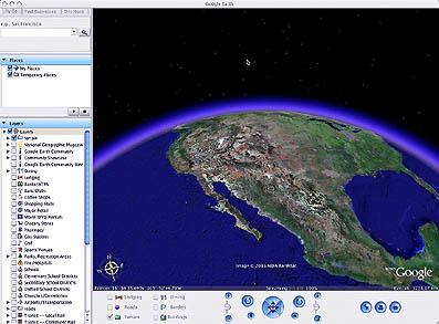 Google Earth スクリーン・ショット
